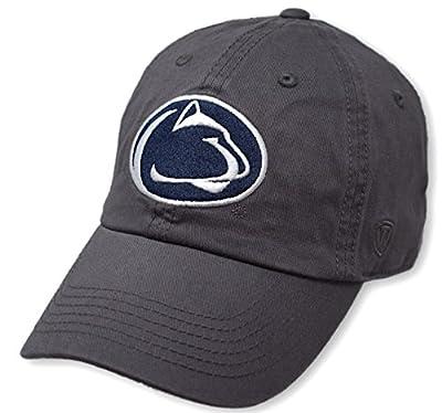 Elite Fan Shop NCAA Men's Adjustable Hat Relaxed Fit Charcoal Icon from Elite Fan Shop