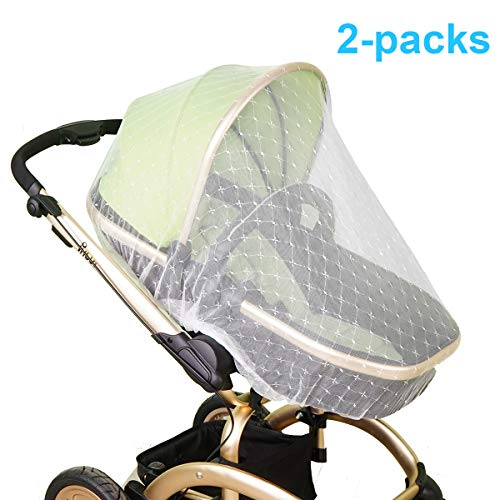 - Mosquito Net for Baby Stroller | Bug Net for Infant Carriers Car Seats Cradles, Crib, Pack and Play, Bassinet, Playpen | Premium Infant Bug Protection for Summer Infant, Graco, Baby Jogger, Chicco