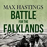Front cover for the book The Battle for the Falklands by Max Hastings