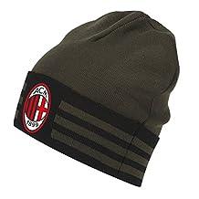 2016-2017 AC Milan Adidas 3S Woolie Hat (Night Cargo)