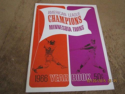 1966 Minnesota Twins revised Baseball Yearbook - Minnesota Twins 1966