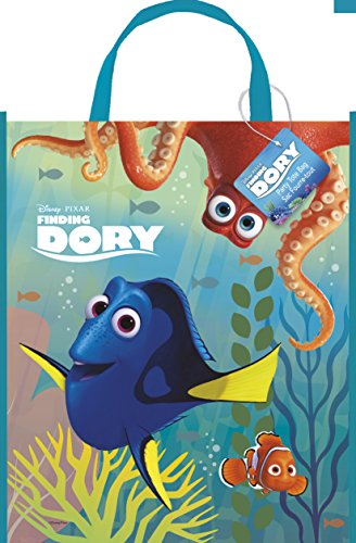 Large Plastic Finding Dory Goodie Bag, 13