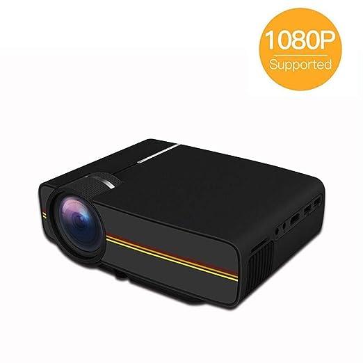 DBSCD Mini proyector portátil de Cine en casa, proyector de Video ...