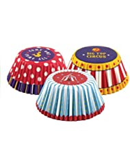 Fox Run 7127 Circus Bake Cup Set, Standard, 75 Cups, Multi-Color