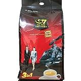 G7 3-in-1 The Original Instant Premium Vietnamese Coffee, 100 Servings/Sachets