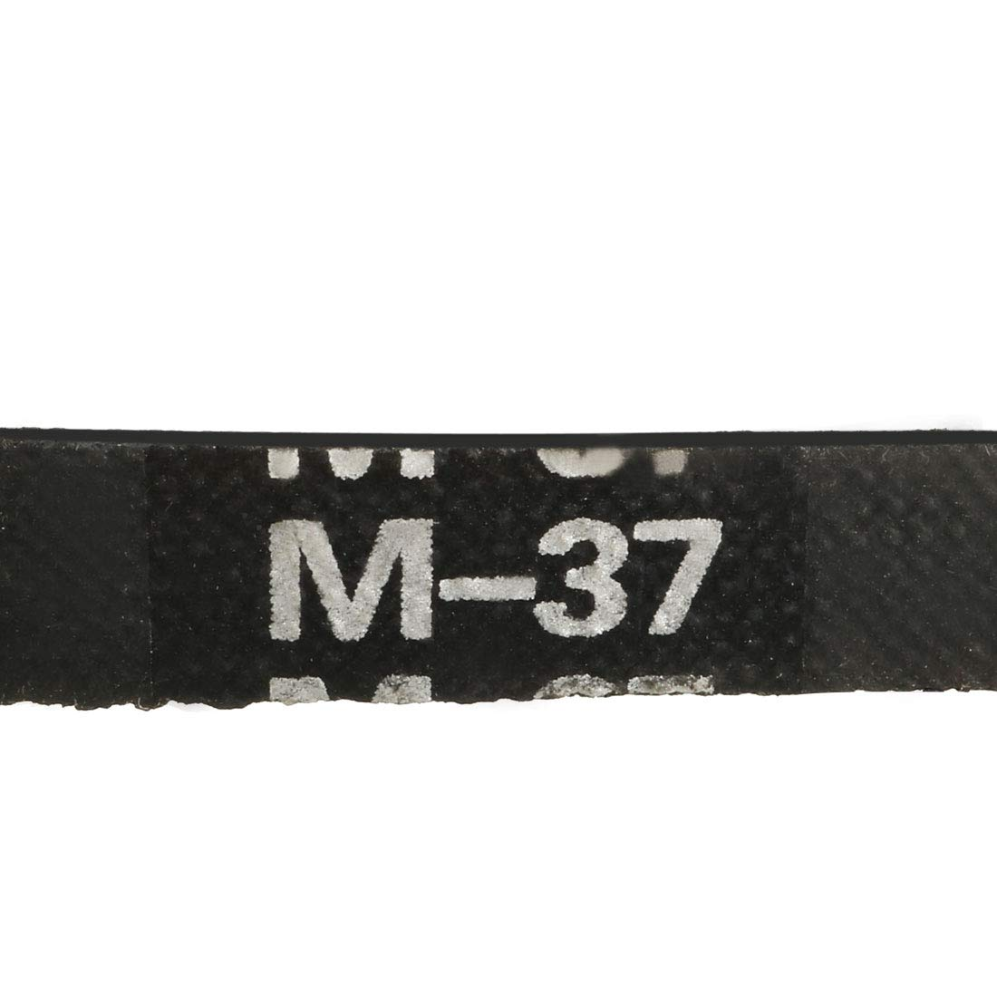 uxcell/® K-26 V Belt Machine Transmission Rubber,Black Replacement Drive Belt.