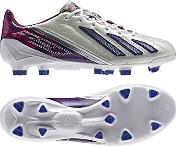 b43d21f1885e Image Unavailable. Image not available for. Colour: Adidas F50 adizero TRX  FG Firm Ground Womens white football boots ...