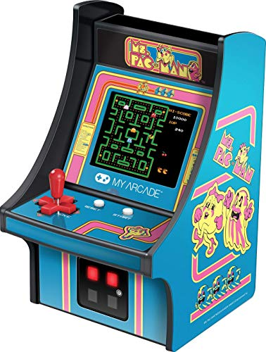 My Arcade Ms. Pac-Man Micro Player - Collectible Mini Arcade Machine