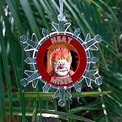 Heat Miser Promo Snowflake Multi Color Blinking Holiday Christmas Tree  Ornament - Amazon.com: Heat Miser Promo Snowflake Multi Color Blinking Holiday