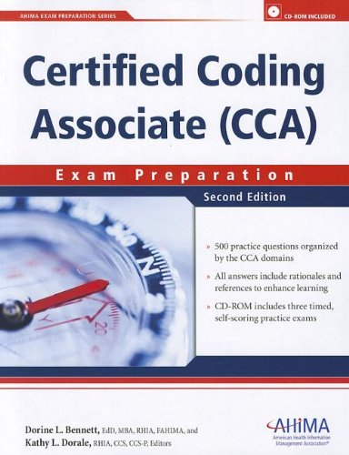 Certified Coding Associate (Cca) Exam Preparation