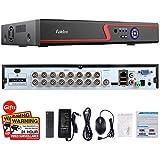 Faittoo H.264 16CH 1080N AHD DVR Hybrid AHD+HVR+TVI+CVI+NVR 5-in-1 Security System Realtime Standalone CCTV Surveillance Onvif P2P Quick QR Code Scan w/Easy Remote View HDMI/VGA Output (No HDD)