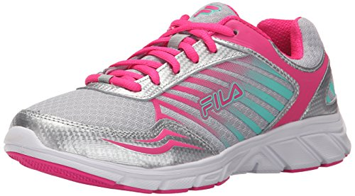 Fila Gamble zapatillas de running Metallic Silver/Pink Glow/Cockatoo
