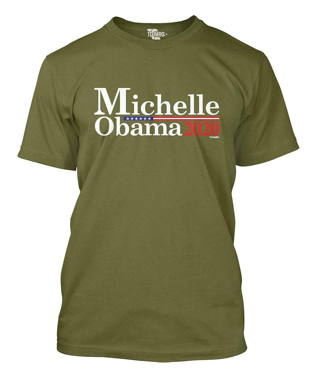8864aef2 Amazon.com: Michelle Obama 2020 Men's T-Shirt (Olive, Large): Clothing