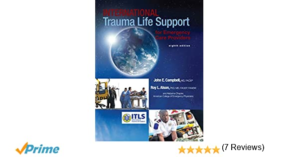 International trauma life support for emergency care providers international trauma life support for emergency care providers 8th edition itls 9780134130798 emergency medical services amazon canada fandeluxe Images