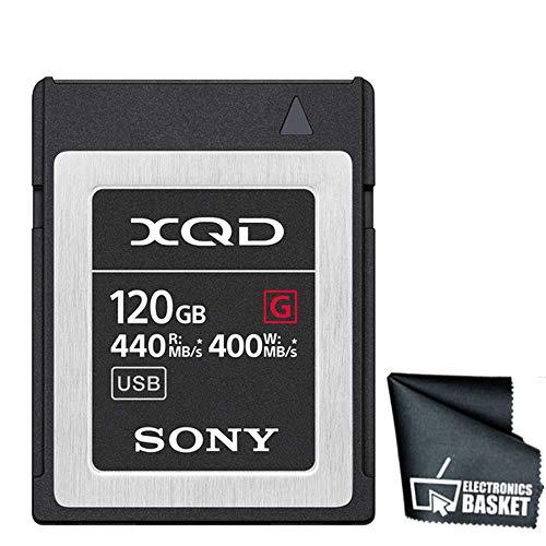 Sony 120GB G Series XQD Memory Card (120GB, Standard)