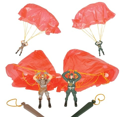 3.5'' SOLDIER PARATROOPERS, Case of 576 by DollarItemDirect