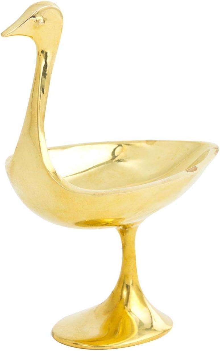 Jonathan Adler Small Brass Bird Bowl