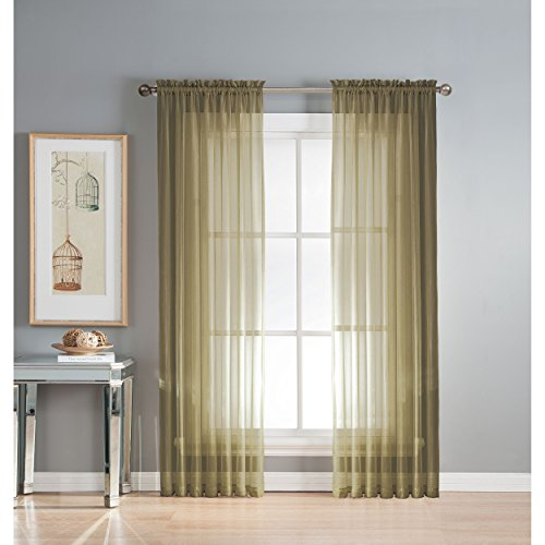 Window Elements Diamond Pocket Curtain product image