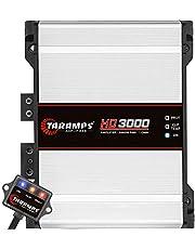 Taramps 900187 Class D HD 3000 Watt RMS 1 Ohms Automotive Sound Systems Mono Full Range Speaker Amplifier with Built in Thermal Management Fan