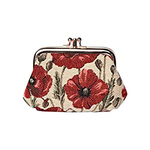 Amazon.com: Signare Fashion Tapestry - Monedero de metal con ...