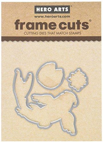 Hero Arts DI354 Color Layering Koi Frame Cuts Paper Cutting Dies by Hero Arts