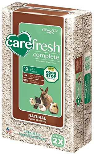 Carefresh Complete Natural Paper Bedding – Natural – 30 lt