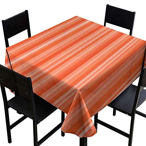 SKDSArts Tablecovers Square Abstract Striped Pattern Wallpaper illustration1,W60 x L60 Square Tablecloth