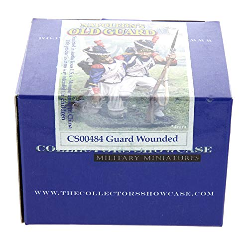 Collectors Showcase Guard Wounded CS00484 - Napoleon's Old Guard Collection