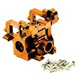 Integy Hobby RC Model T6923ORANGE Alloy Gearbox Assembly for Savage XL & X 4.6 RTR