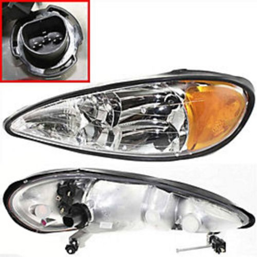 New Headlight Fits Pontiac Grand Am Replacement Driver Side - Headlight Pontiac Drivers Am Grand