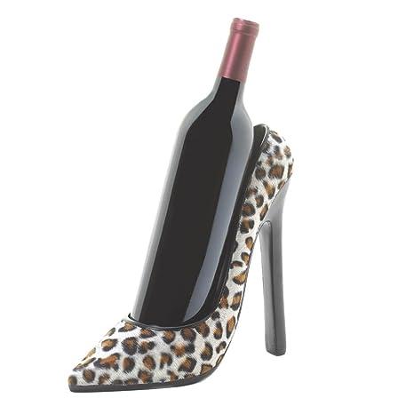 Amazon.com: Soporte para botella de vino en alta zapato de ...