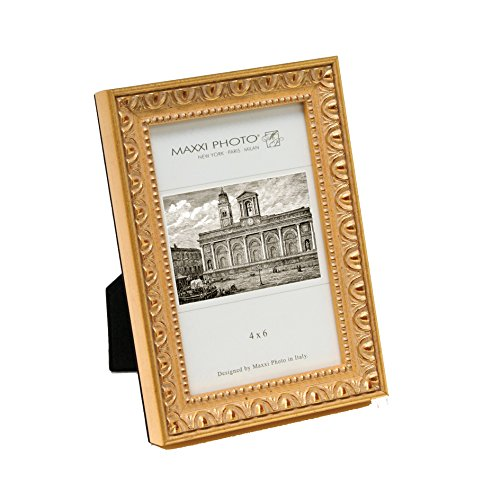 maxxi-designs-photo-frame-with-easel-back-4-x-6-antique-gold-leaf-casa-bella