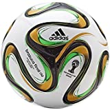 Adidas 2014 FIFA World Cup Brazuca Final Rio Replica Top Glider Match Ball, Size 5