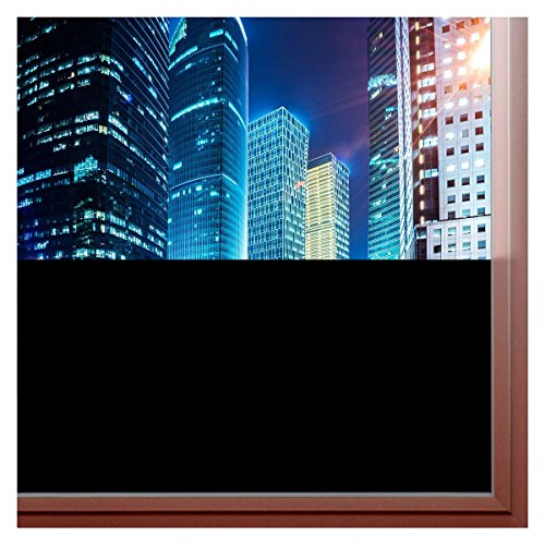 BDF BLKT Window Film Blackout Privacy (12in x - Opacity Black