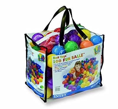 100 Pcs Fun Ballz by Intex