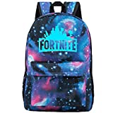 Fortnite Backpack Battle Royale School Bag Luminous School Bag Black