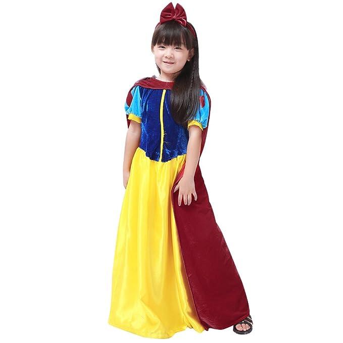 M & A Chica Disfraz Blancanieves Schneewittchen L: Amazon.es: Ropa ...