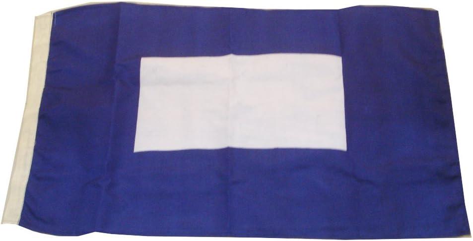 "Naval Signal Flag B Marine Code 16/"" X 28/"" Nautical // Boat LARGE FLAG"