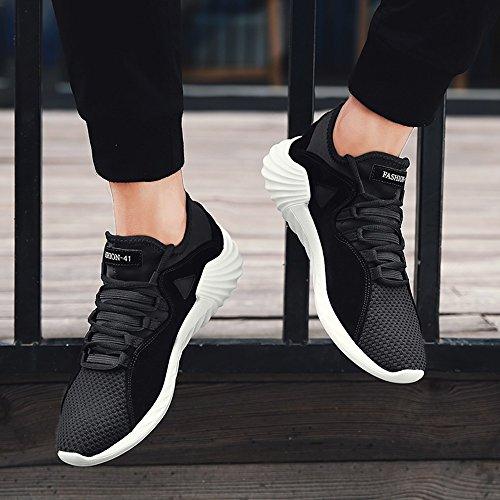 Feifei Chaussures Couleurs Respirant Hommes taille Automne Et Chaussures Mode Printemps Loisirs Marée Noir 4 Choix Multiple t11Uwqr
