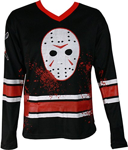 Jason Voorhees Adult Hockey Jersey - S]()