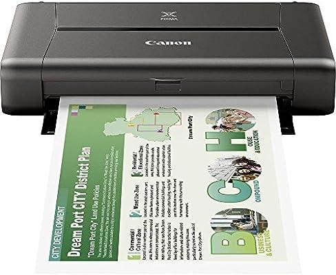 Impresora de inyección de tinta Canon PIXMA iP110 Negra Wifi ...