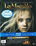 Les Miserables Blu Ray + CD Motion Picture Soundtrack + Digibook