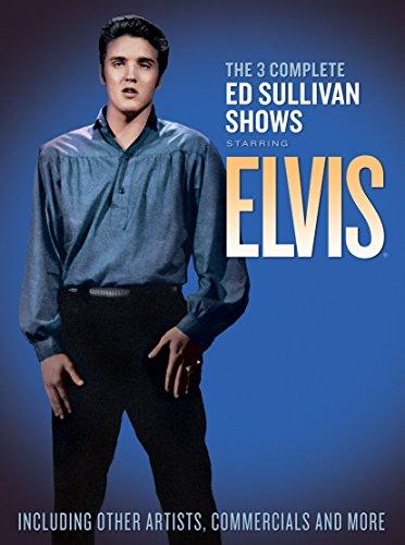 The 3 Complete Ed Sullivan Shows Starring Elvis Presley (2-DVDs)