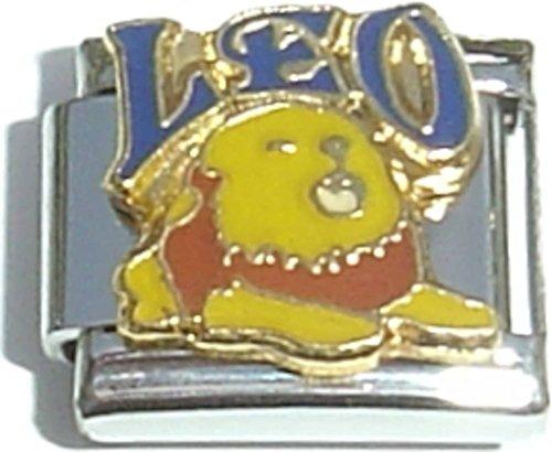 Italian Lion Charm - Leo Lion Italian Charm