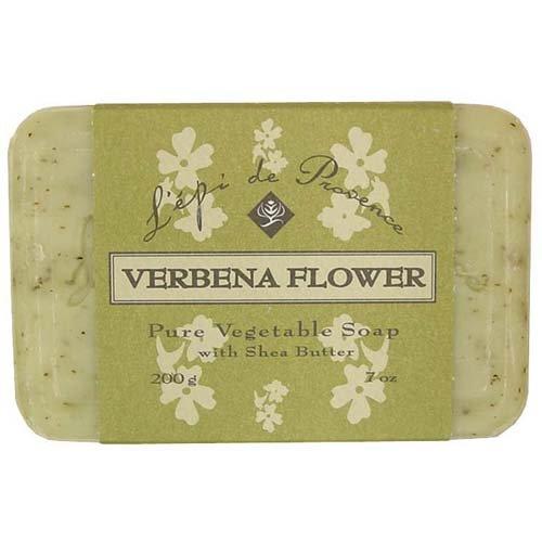 Cheap 12 Bars of L'epi de Provence Triple Milled Verbena Flower Shea Butter Vegetable Soaps from France 200g