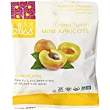 Fruit Bliss Organic Turkish Dried Mini Apricots, 1.76 oz, Pack of 12