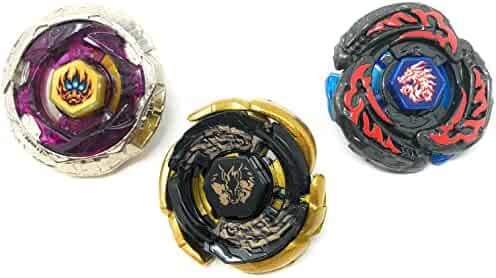 Bey Battling Blades Metal Fusion Set Launcher Included   3 Set   By: Crush