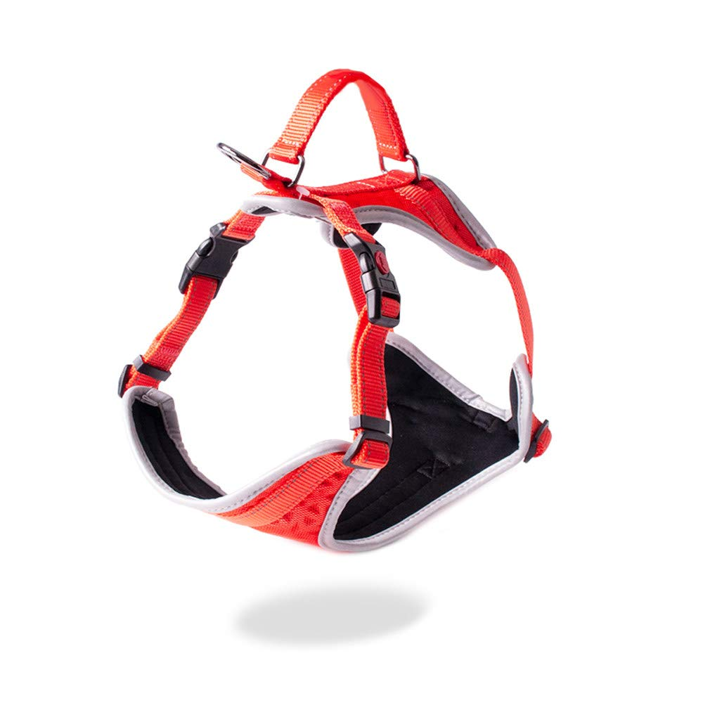 Red XL Red XL Large Dog Harness Vest Walking Hand Strap,Outdoor Collar Pets Vest, Body Padded Vest Comfort Control for Large Dogs in Training Walking,Red-XL