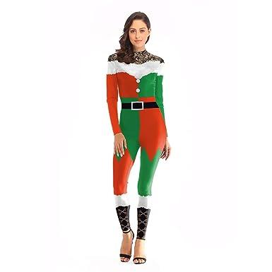 LUCHA disfraz de Papá Noel para mujer, Style 3, S/M: Amazon.es: Hogar