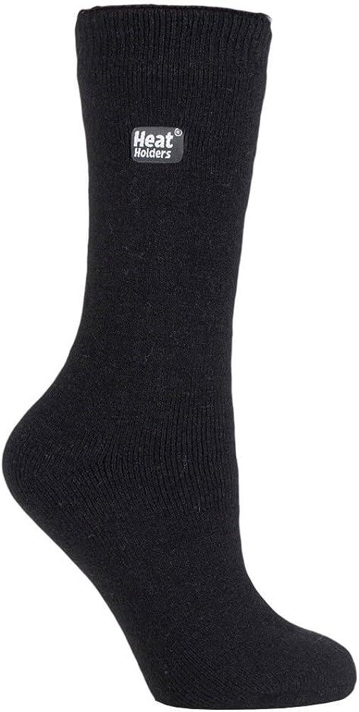 Heat Holders Ultra Lite - Womens Winter Warm Thin Lightweight Thermal Crew Socks